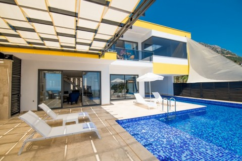 Villa Blue One sirena